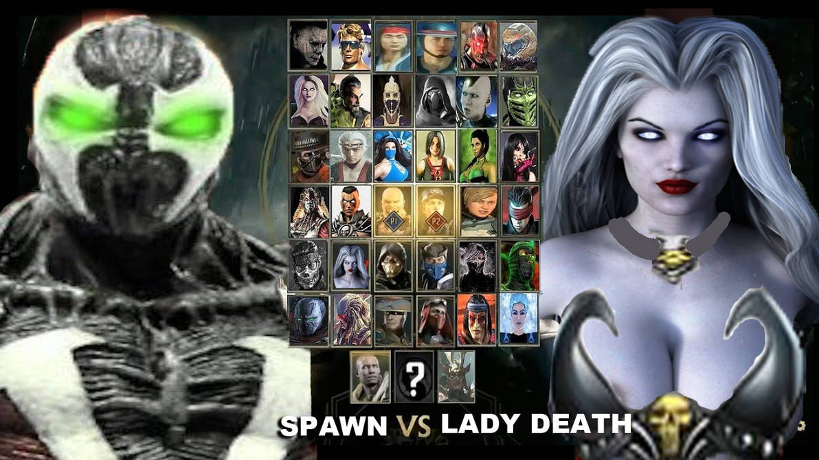 Spawn Vs Lady Death Mortal Kombat 11 by FrogGod1