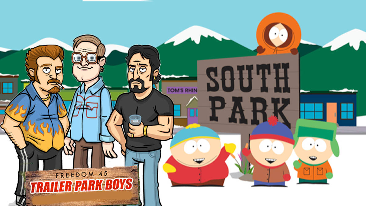 Trailer Park SouthPark by FrogGod1
