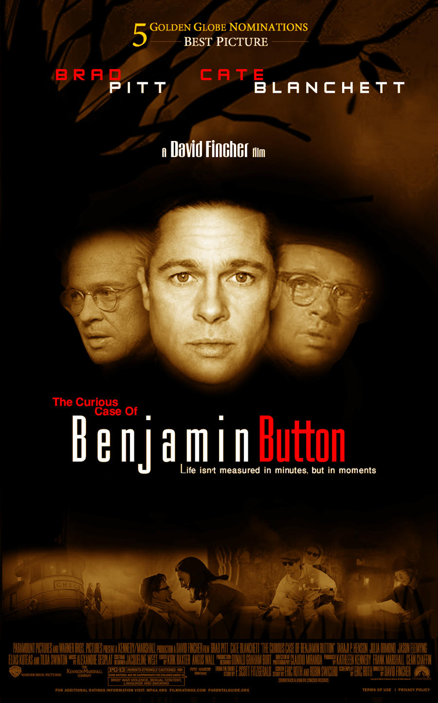 movie and short story benjamin button The curious case of benjamin button was the short story the curious case of benjamin button of most romantic movies daisy offers herself to benjamin.