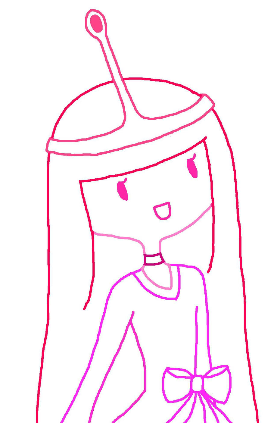 Princess Bubblegum By Pretzelweather
