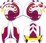 Rebel Pilot helmet deisgn by Mhoogo