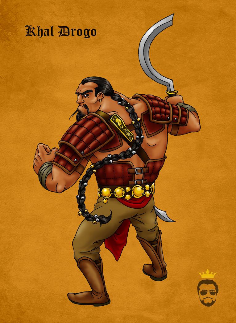 Khal Drogo by Felipenn