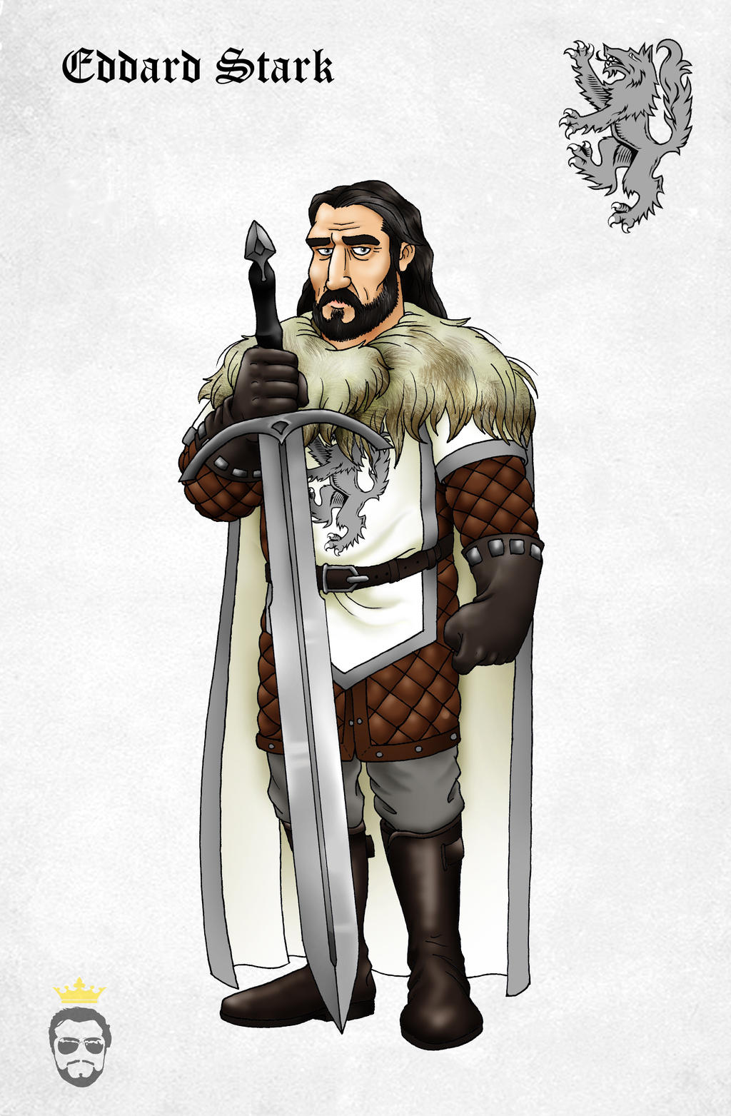 Ned Stark by Felipenn