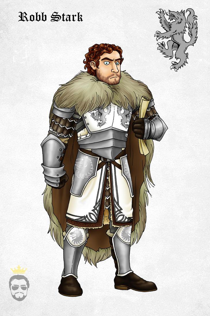 Robb Stark by Felipenn