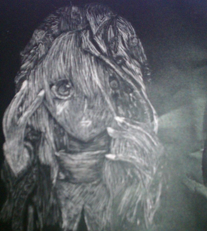 a girl by KikiGreenwell