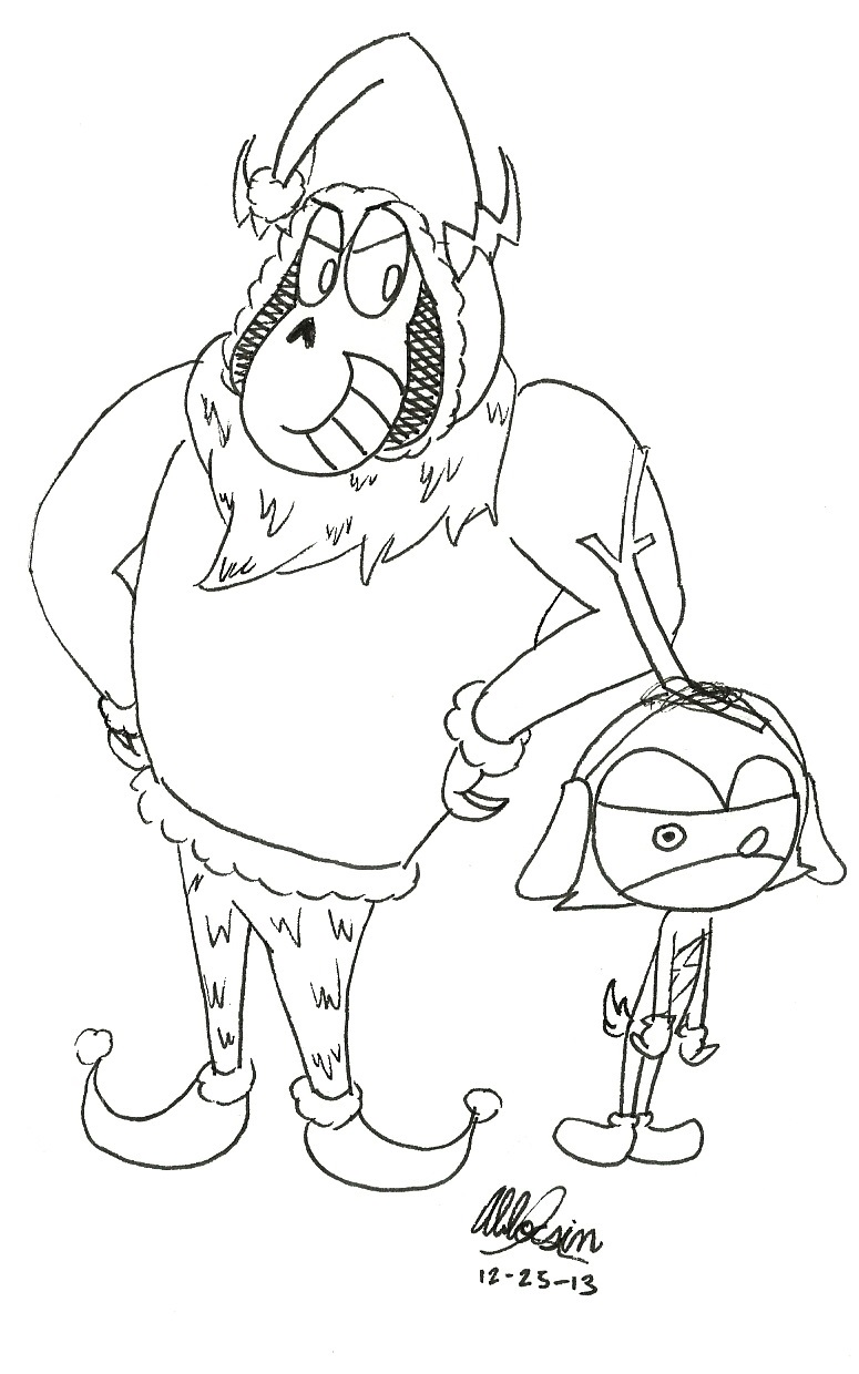 Mean Grinch Face Coloring Page Coloring Pages