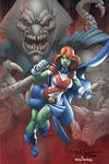 Miss Martian colors by Fuentes