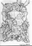 X-Men 2008 sketch