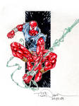 Scarlet Spider marker sketch