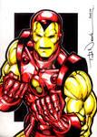 Iron Man markers 2010