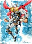 Thor watercolor