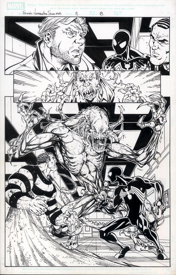 Friendly Neighborhood Spider-Man 19, page 8 by ToddNauck