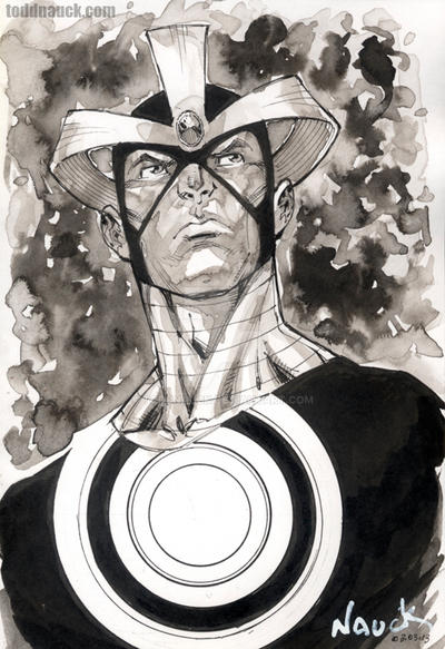 Havok ink wash by ToddNauck
