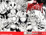 Uncanny Avengers sketch cover