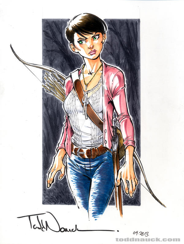 Mary Margaret by ToddNauck