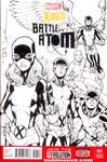 X-Men Battle of the Atom sketch cover