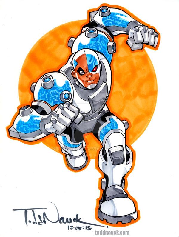 Original Cyborg Teen Titans