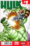 Hulk vs RocketRaccoon