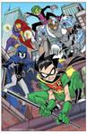 Teen Titans on patrol