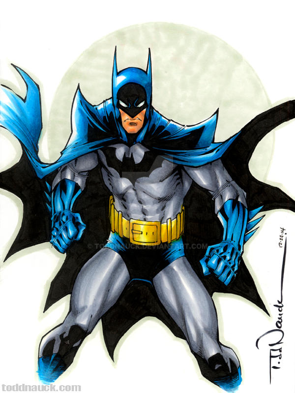 Batman by ToddNauck