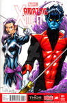 Nightcrawler and Psylocke