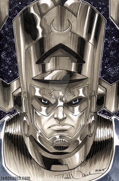 Galactus by ToddNauck