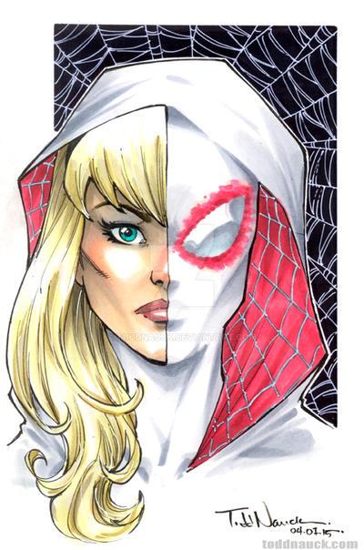 Spider-Gwen by ToddNauck