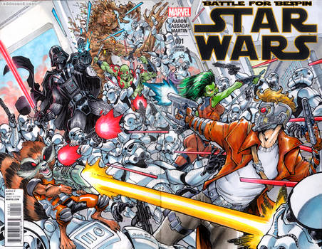 Guardians of the Galaxy versus the Empire.