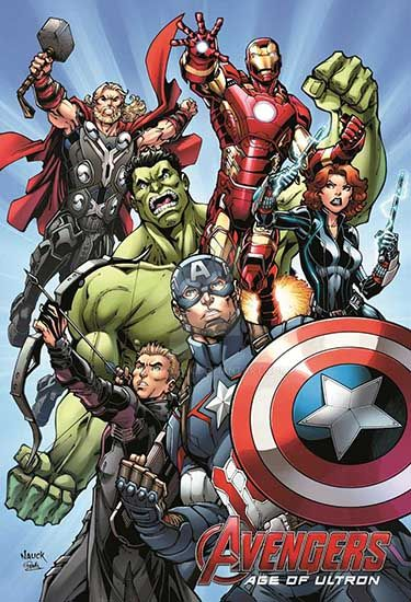 Avengers: Age of Ultron Disneyland Exclusive print by ToddNauck