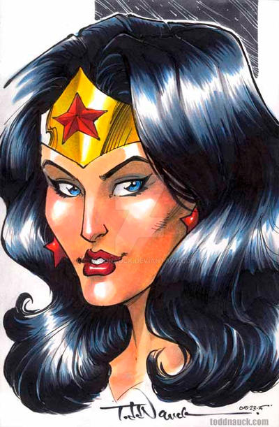 Wonder Woman by ToddNauck