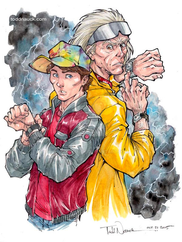 Back To The Future 2 by ToddNauck