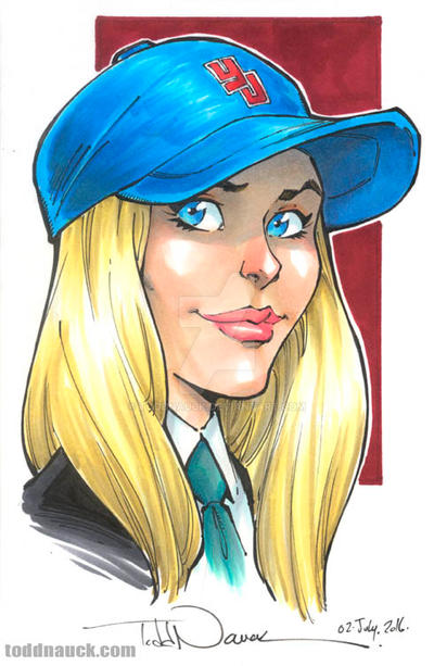 Young Justice Cissie Jones-King by ToddNauck