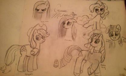 Late Night Pony Doodles
