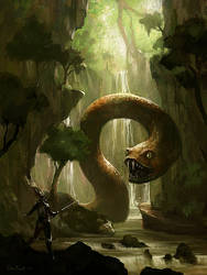 Snake Guardian by PixelObsession