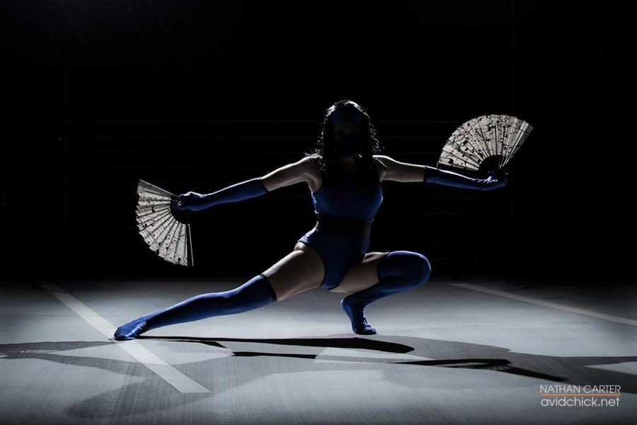 Kitana - Mortal Kombat 2 by MissSinisterCosplay