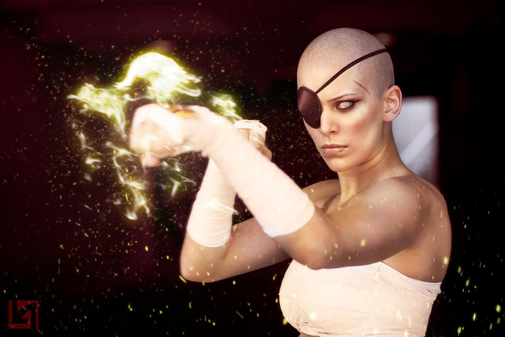 sexy gender swap cosplay female sagat