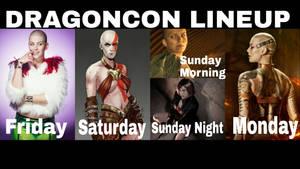 DragonCon Lineup