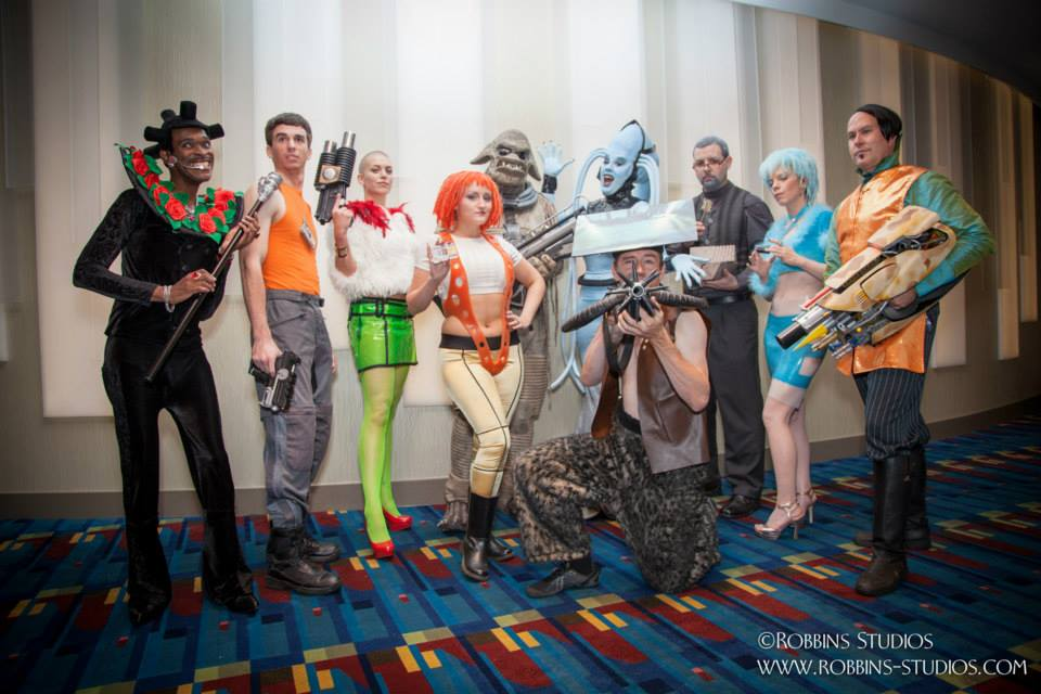 Fifth Element Group 2014 by MissSinisterCosplay