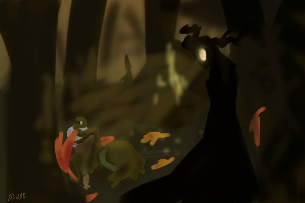 Autumn~ Over the Garden wall by dragonturner