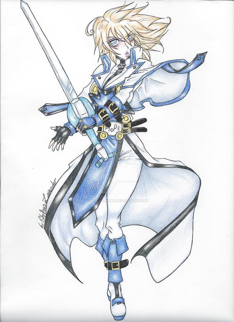 female Ky Kiske complete by shylavender