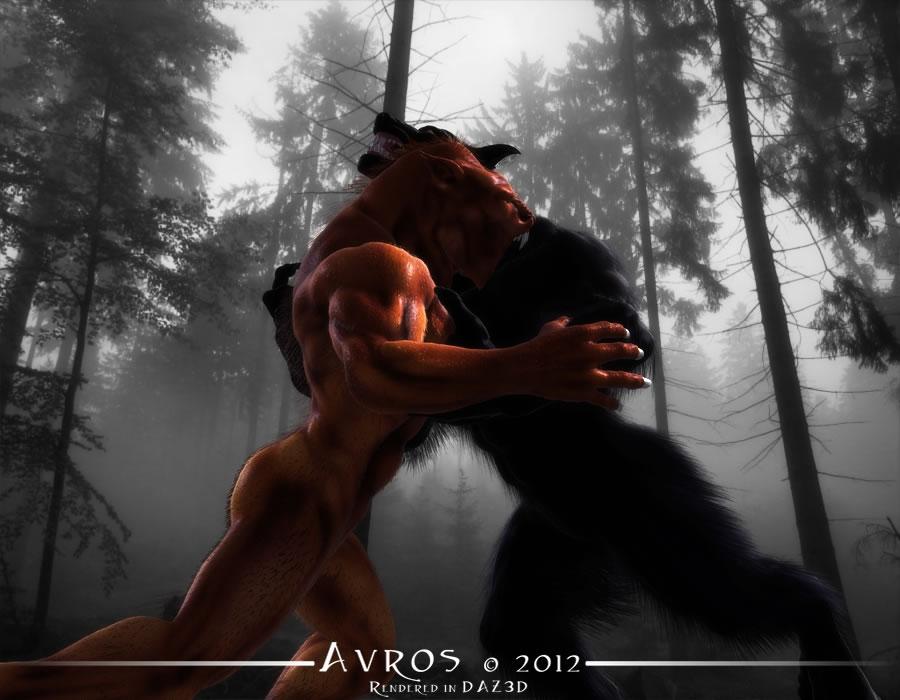 Lycan vs Werewolf by 4U2C-aka-Shane on deviantART