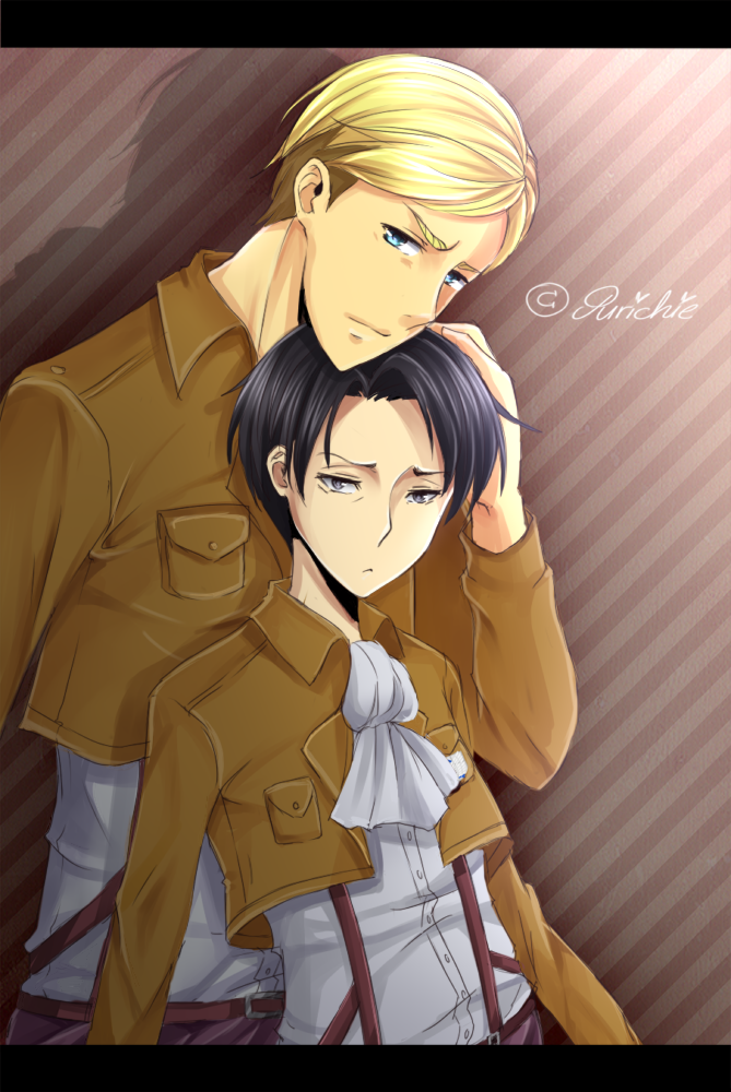 [PC] Erwin x Levi by Purichie