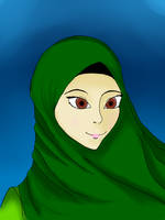 Muslimah by faflame101