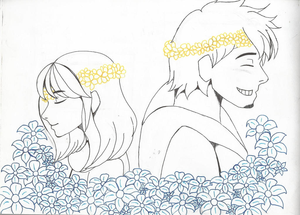 Echo Flowers and Buttercups by faflame101