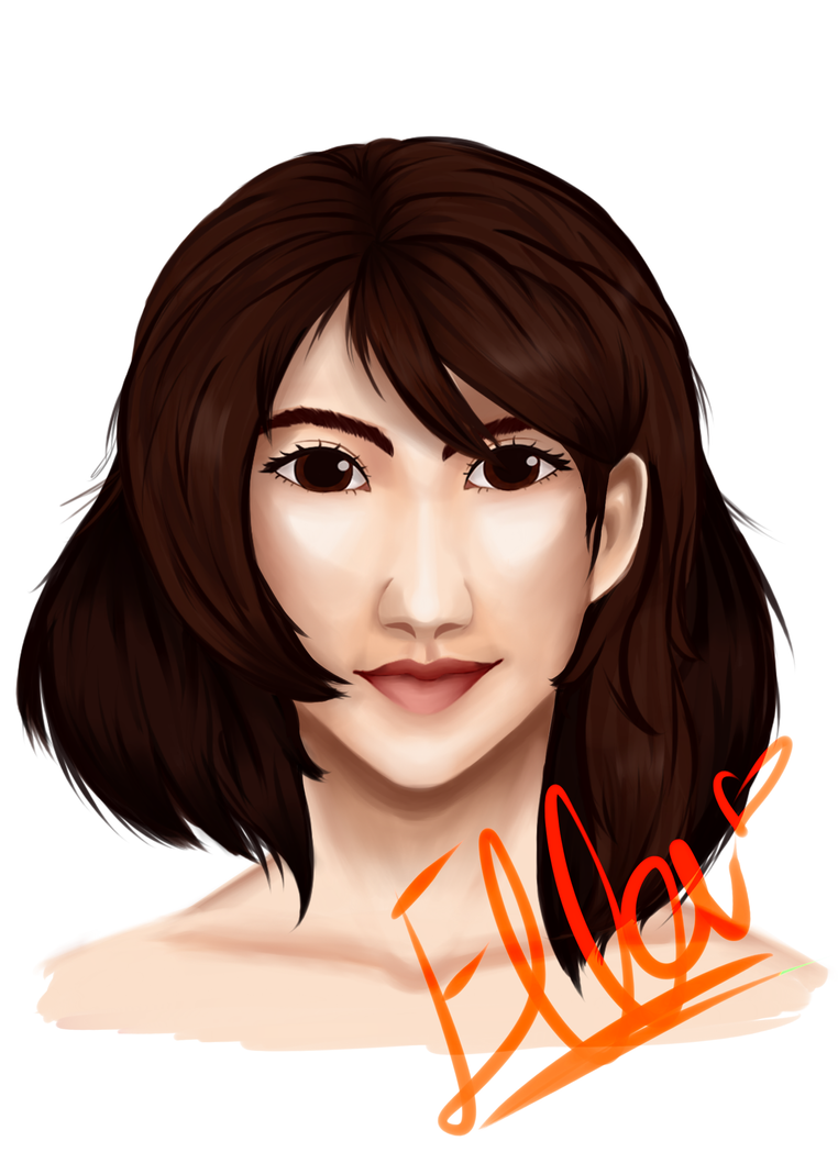 Realistic test: Ella by faflame101