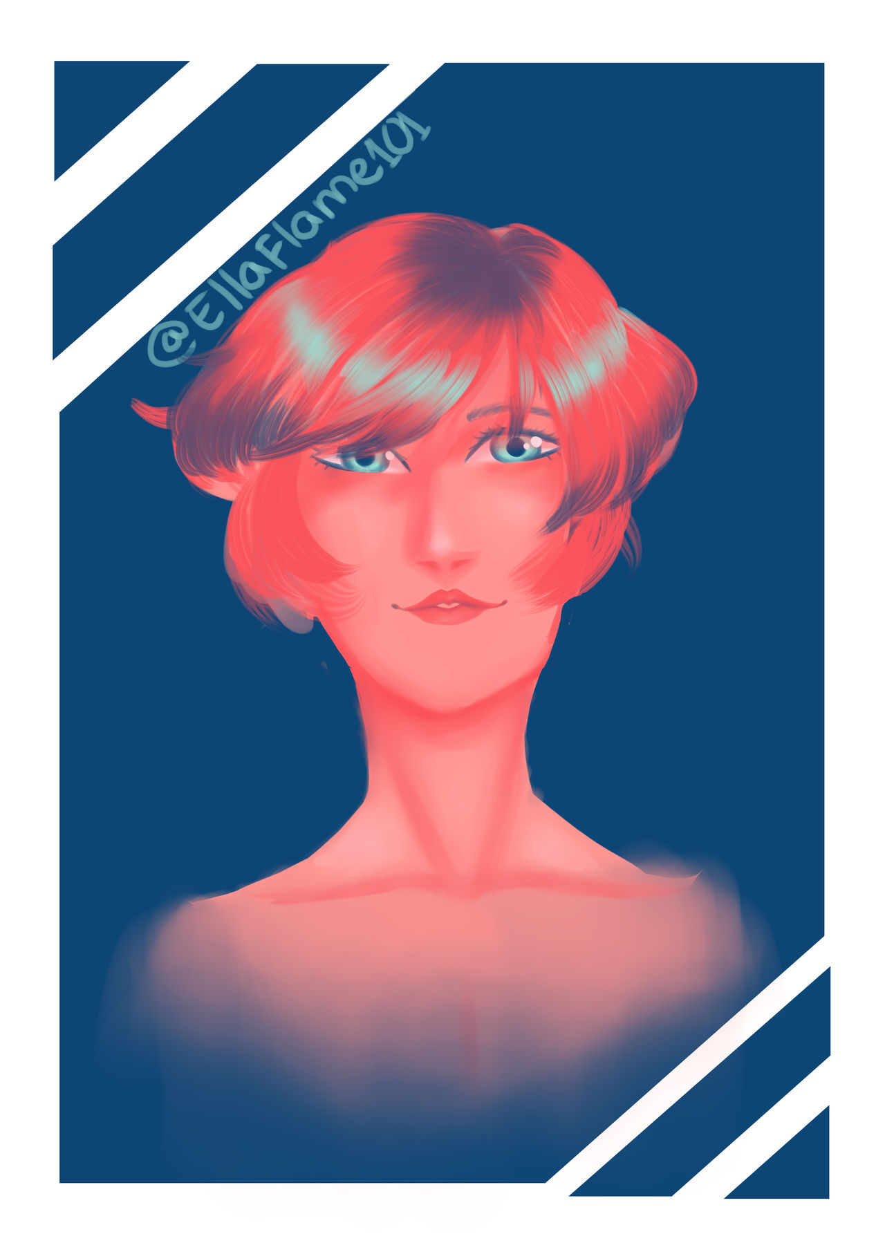 Colour palette challenge #1 by faflame101