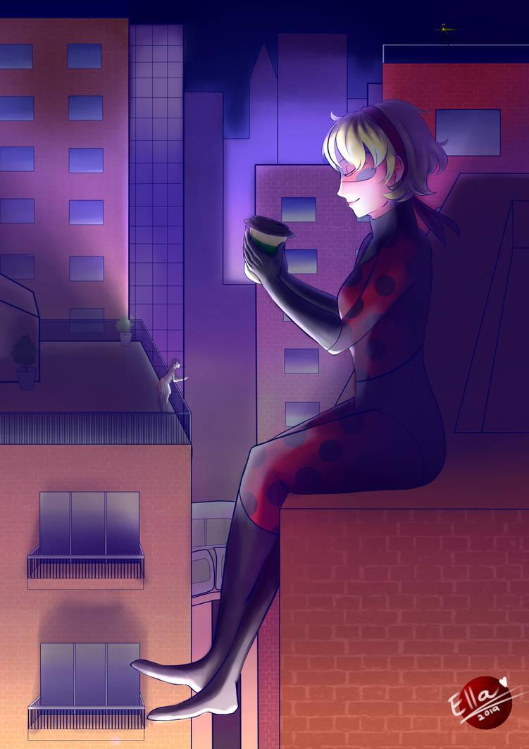 Commission: If I was ladybug.. by faflame101