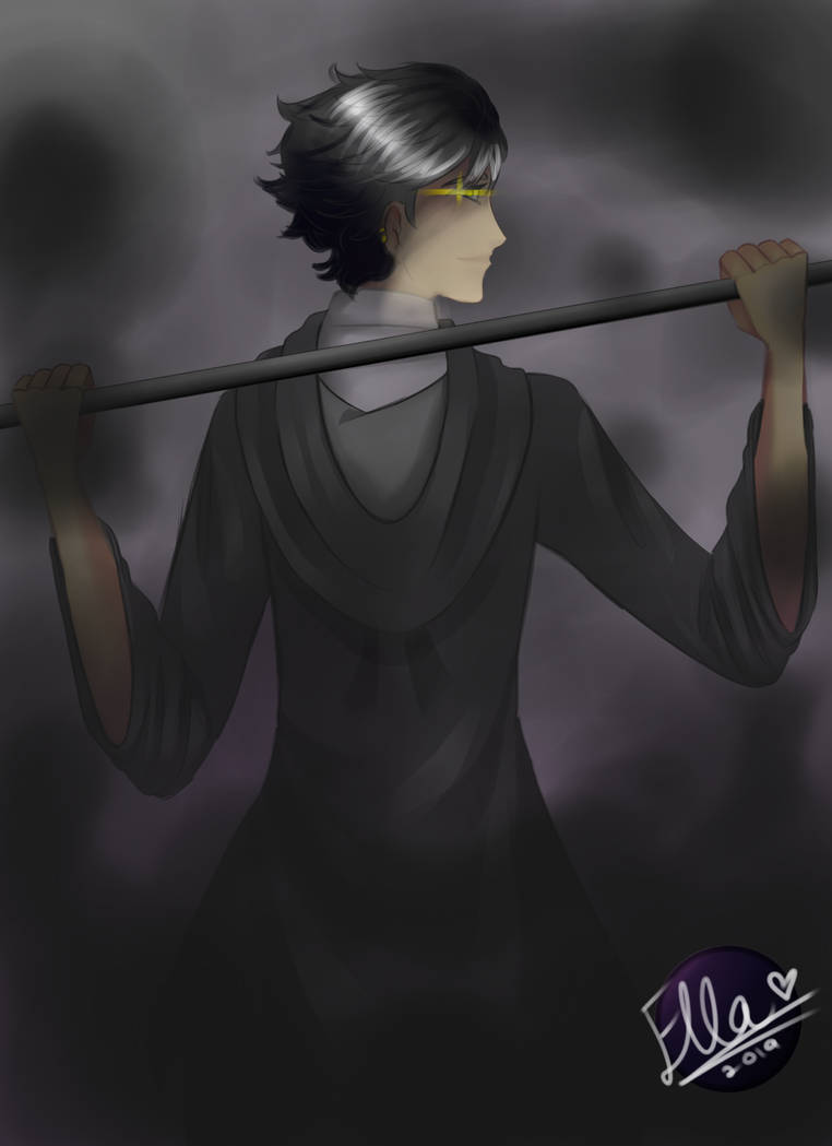 Here comes the Grim Reaper... by faflame101