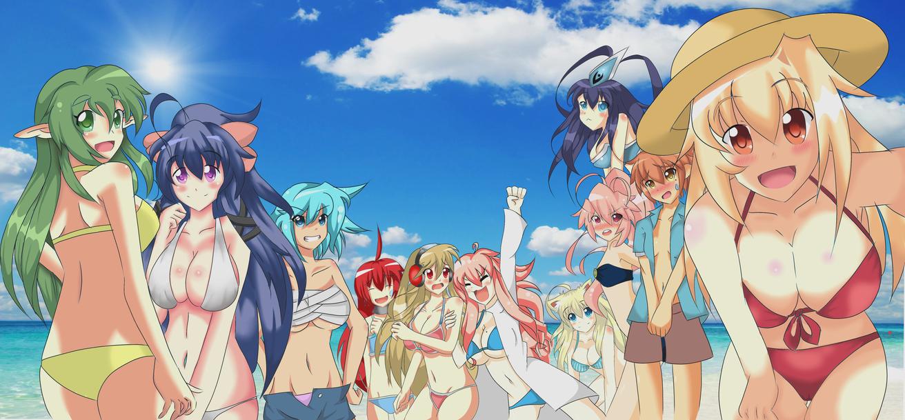 anime beach girls :)mrorbs on deviantart