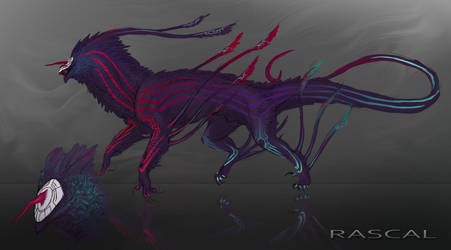 Paradise Beast Concept: Enavoska by itz-Rascal
